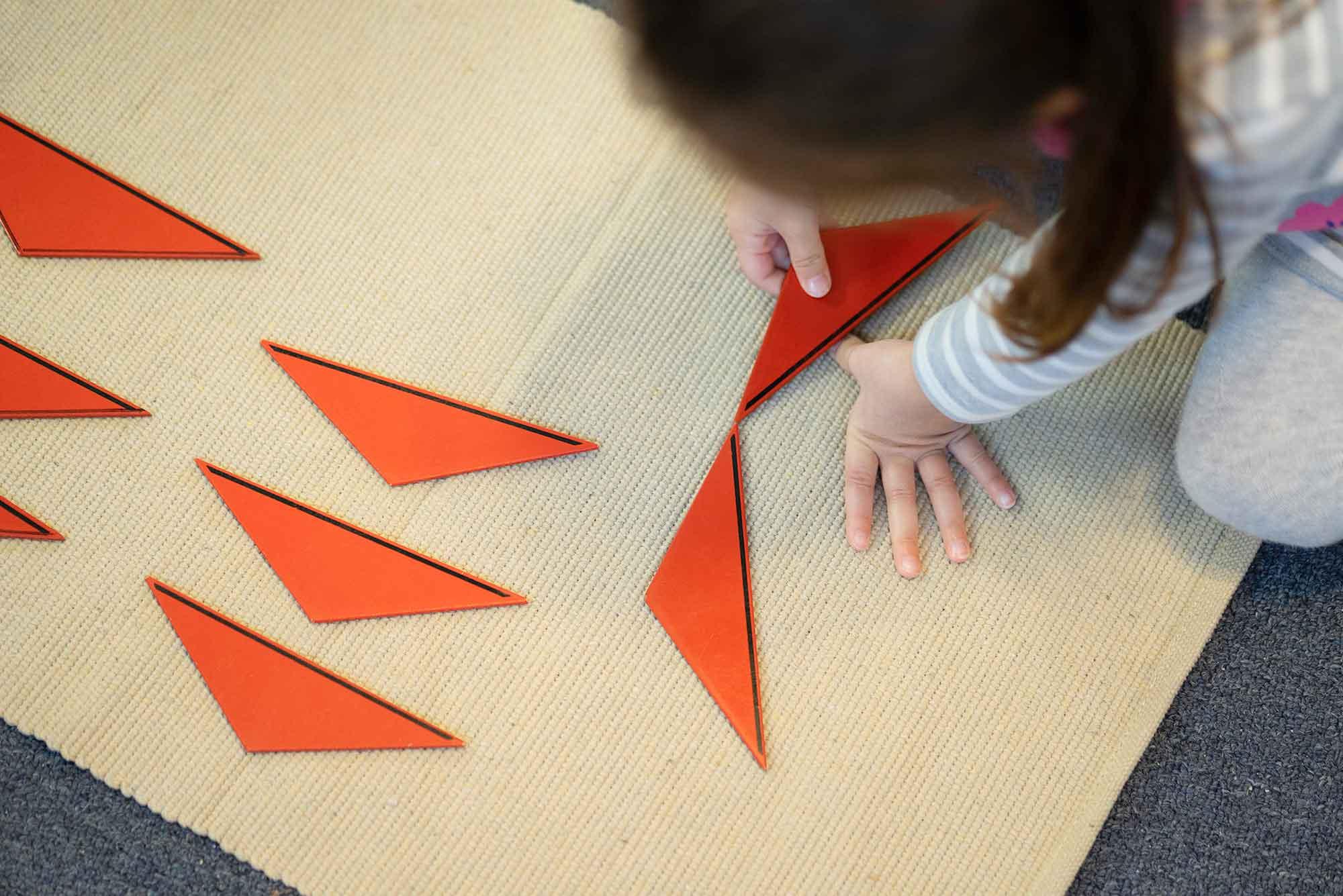 Burbank Montessori Academy Constructive Triangles