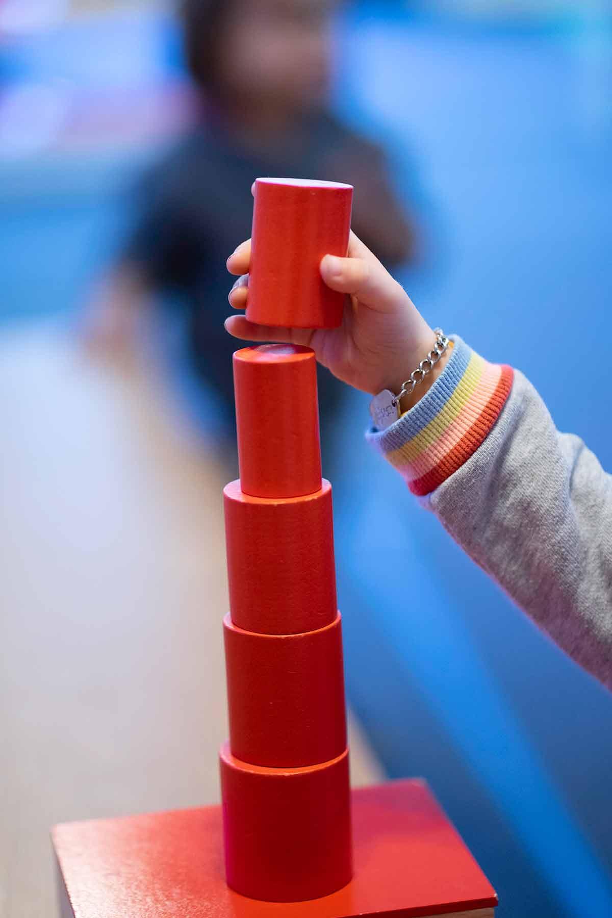 Burbank Montessori Academy Knobless Cylinders