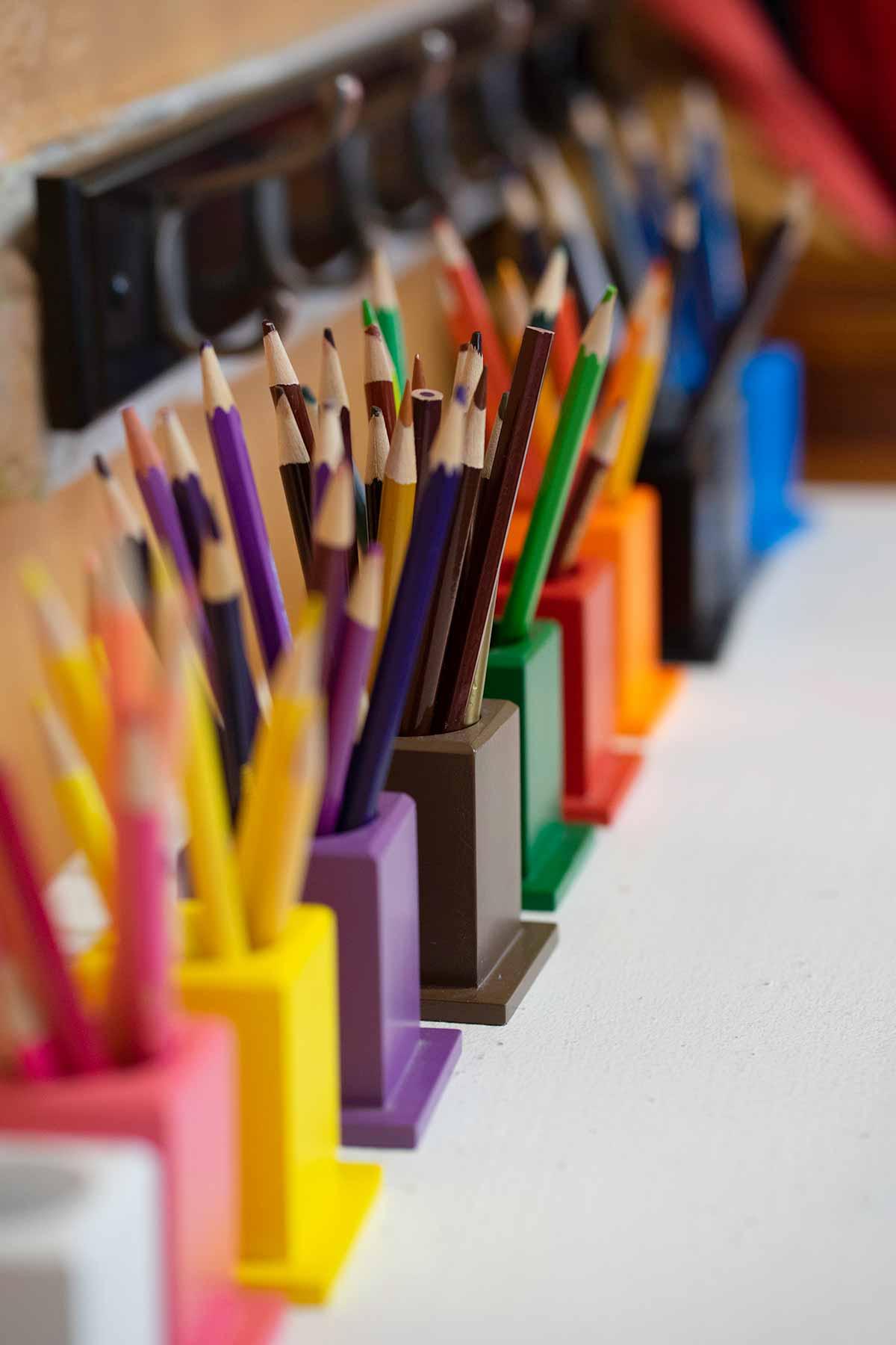 Burbank Montessori Academy Colored Pencils