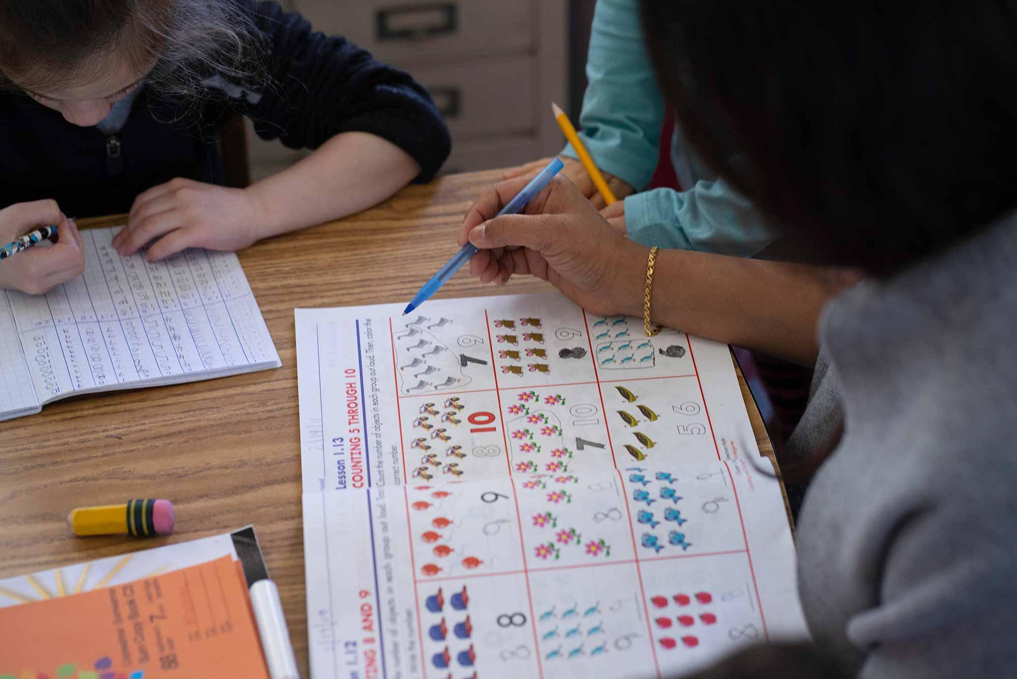 Burbank Montessori Academy Teacher Explains Mathematics