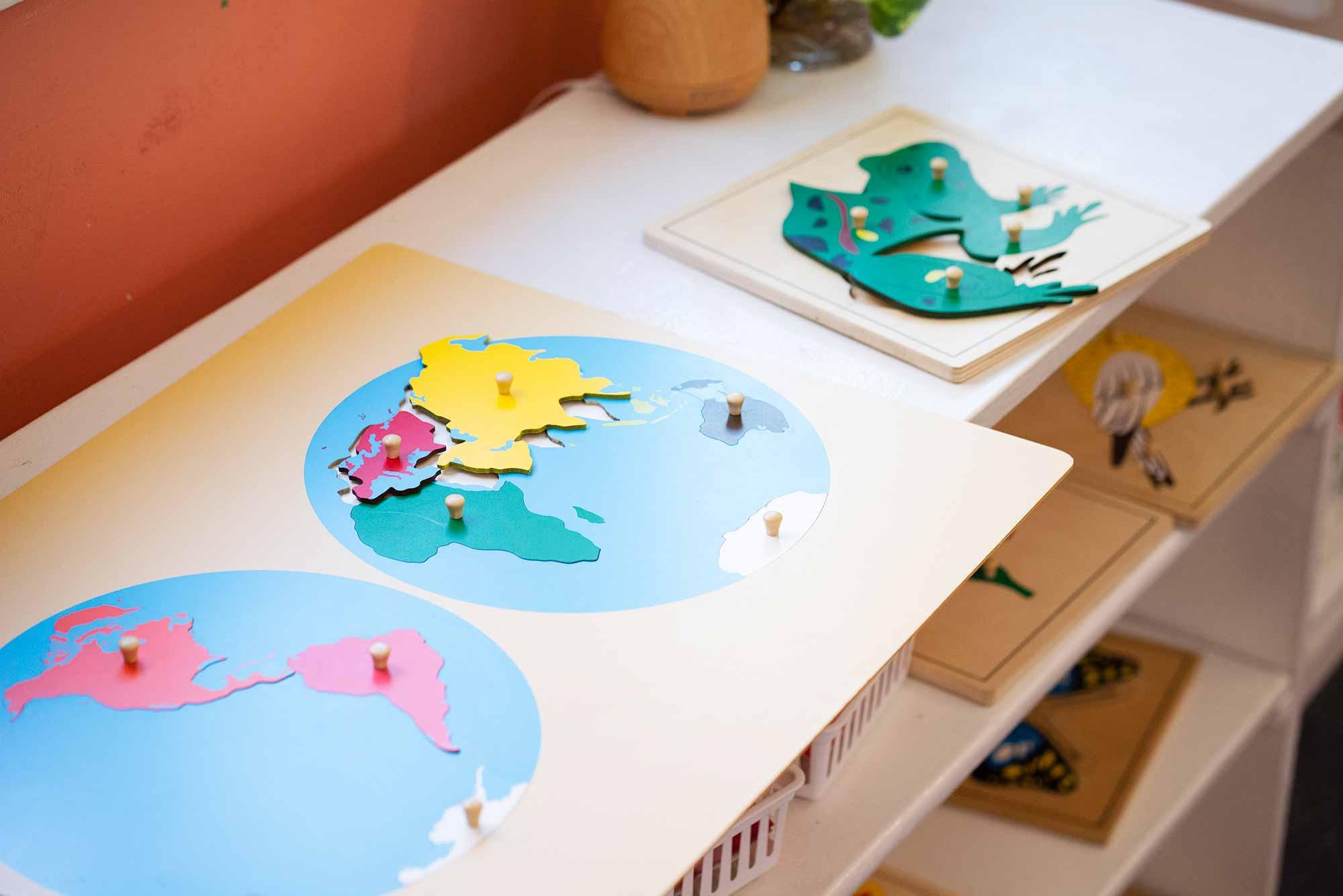 Burbank Montessori Academy Puzzles