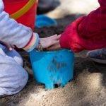 Burbank Montessori Academy Students Playing Together