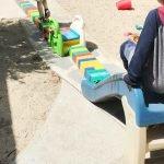 Burbank Montessori Academy Rainbow Slide
