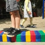 Burbank Montessori Academy Rainbow Walkway