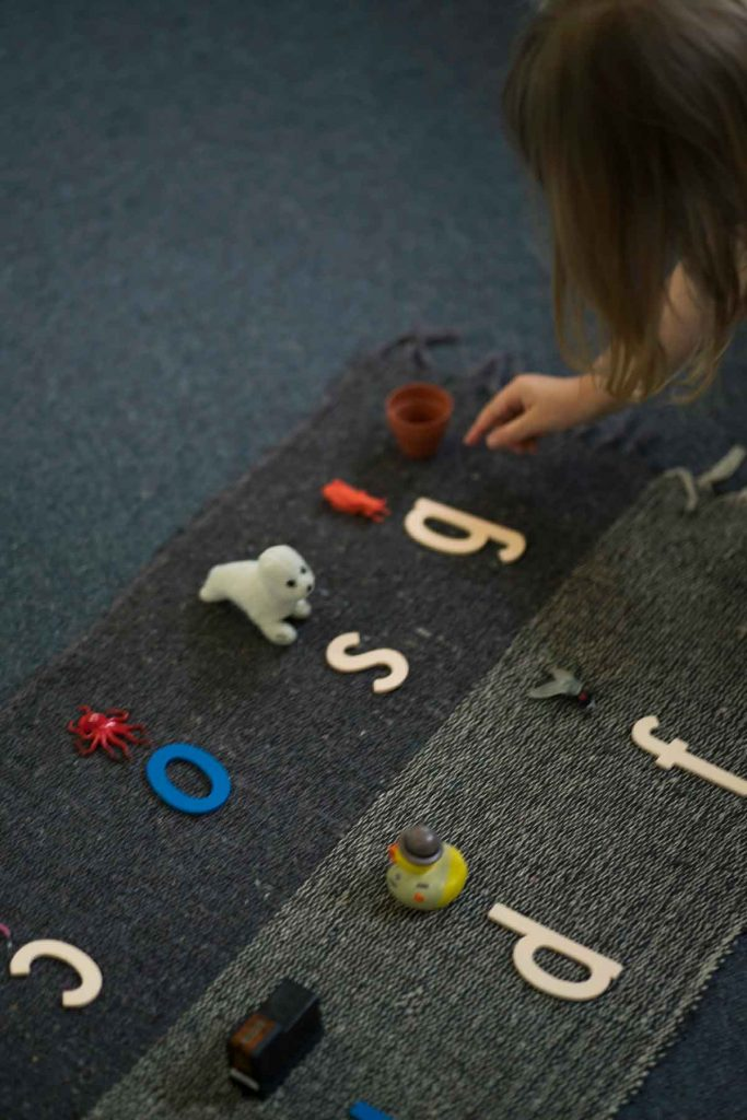 Burbank Montessori Academy Alphabet 2