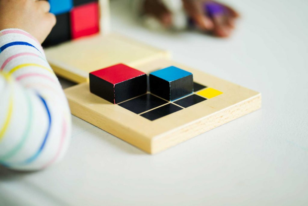 Burbank Montessori Academy Trinomial Cube