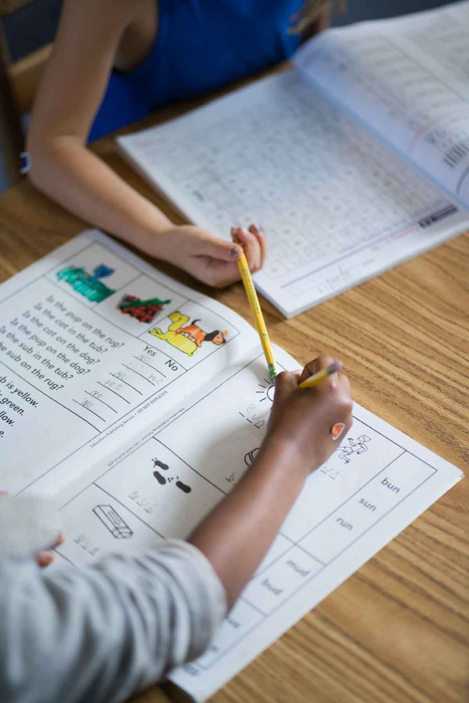 Burbank Montessori Academy Language Workbook 2
